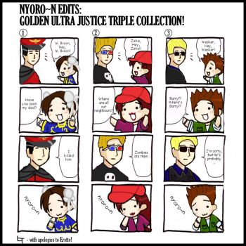 Nyoro-n Edit Triple Pack by dto-collective