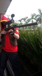 Sniper from the game Team Fortress 2 by marcoscapella