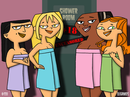 TD Girls Ready for Shower by DJgames