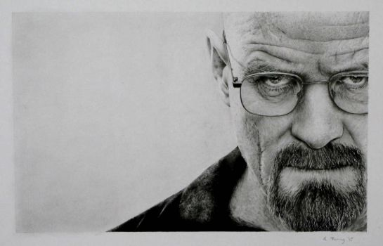 Walter White (aka Heisenberg) from Breaking Bad by AlexFleming