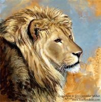 The Long Hours - Lion by Nambroth