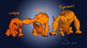 The Wildmutt brothers by Bou-Ro