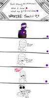 FNAF - Tied Up (Mikecent Comic) Part 1 by TimelessUniverse