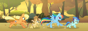 MLP FIH [Next Gen]  Running of the Leaves by VelveagicSentryYT