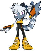 Tangle The Lemur Sonic Channel Style by QuiickyFoxy
