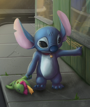 Stitch / Scrump by PlexisOrion