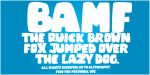 Bamf Font by blitgraphy