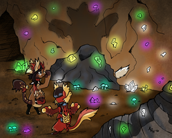 BB Prompt - Spooky Cave by Ryu-Oni