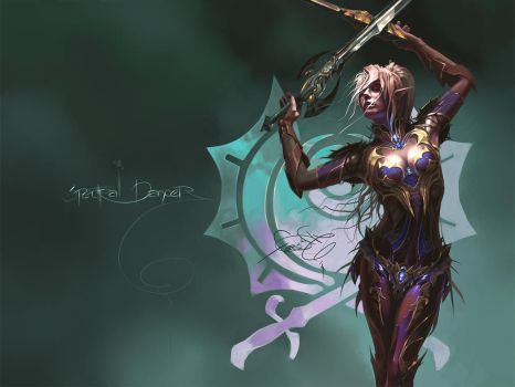 Spectral Dancer Wallpaper by fear-sAs