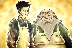 Zuko and Iroh by shazam26