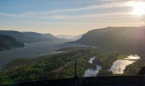 Sunrise over the Gorge by the3dman
