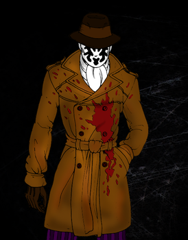 Rorschach Again - Colored by Mark-Up