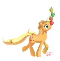 An Apple a Day by Alipes