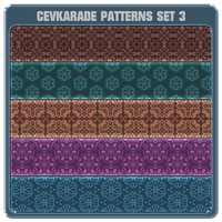 Cevkarade patterns set 3 by Cevkarade