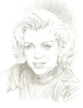 Marily Monroe by bcstroud