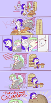 Celestia Helps Rarity Find Herself by poptart36