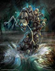 The Hordes Domination: Boneswarm by Mikeypetrov
