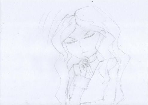 Diana agrees sketch by Klice