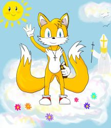 BIBLE SERIES- SONIC AND JOHN PAUL II- Tails by sanickfan2137