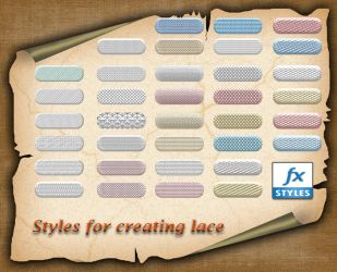 Styles for creating lace by roula33