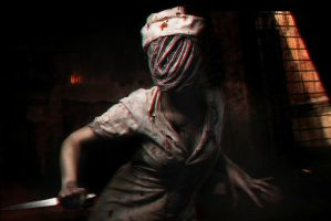 Silent Hill nurse cosplay by mysteria-violent