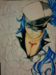 2014 Drawing - wip of Esdeath by nielopena