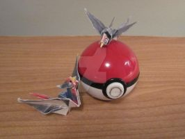 Taillow and Swellow Origami