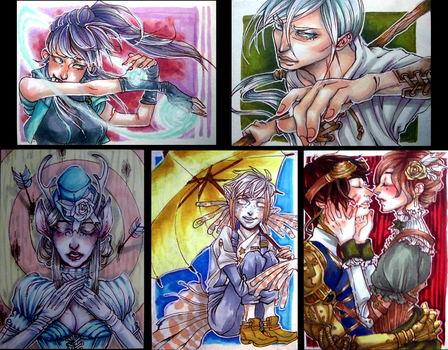 trading cards by prismchan