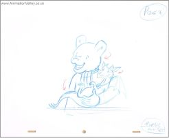 Rupert Bear Storyboard Production drawing by AnimationValley