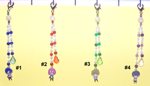 Free! (series) Beaded Fobs by jordannamorgan