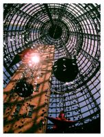 Christmas at Melbourne Central by Lilithia