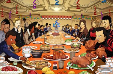 The Feast. by Lycatel