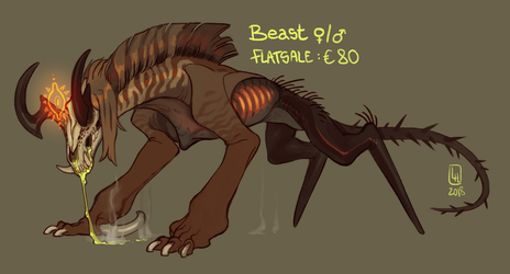 Beast Adoptable 2018-08-23 TAKEN by LiLaiRa
