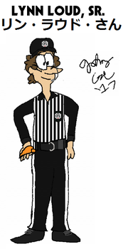 Lynn Loud, Sr., the CFL official by FromEquestria2LA