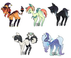 Spoopy adopts - [CLOSED] by Stargrace97-2