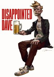 Disappointed Dave 00 by AldgerRelpa