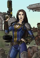 Fallout character (version 2) by SteveNoble197