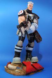 X-Men Cable Caterpillar style by figuralia