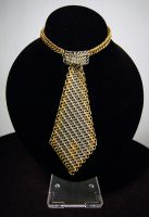 Chainmail Tie by xMeisianx