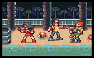 Streets of Rage Beach by AlbertoV