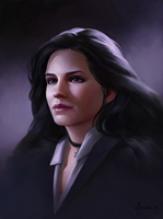 Yennefer of Vengerberg by Aliciane