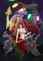 S-CLASS MAGE ERZA WANTS TO BATTLE! by ShawnnL
