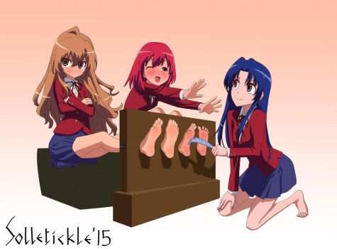 Toradora Girls Tickle Time! by solletickle