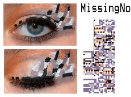 Pokemakeup: MissingNo by nazzara