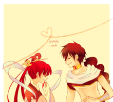 magi: a moment caught in the air by califlair