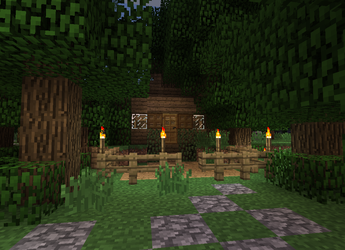 Wood Cutters Cottage 2 by DPrime123