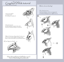 Gryphon's beak_tutorial by Husgryph