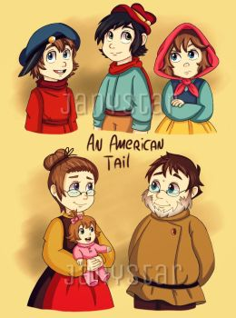 An American Tail -My Human Version- by Jany-chan17