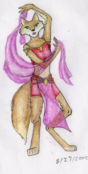 Dancer fox by The-original-ninja-c