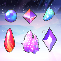 Mystery Gems CLOSED (0/6 available) by likeocean